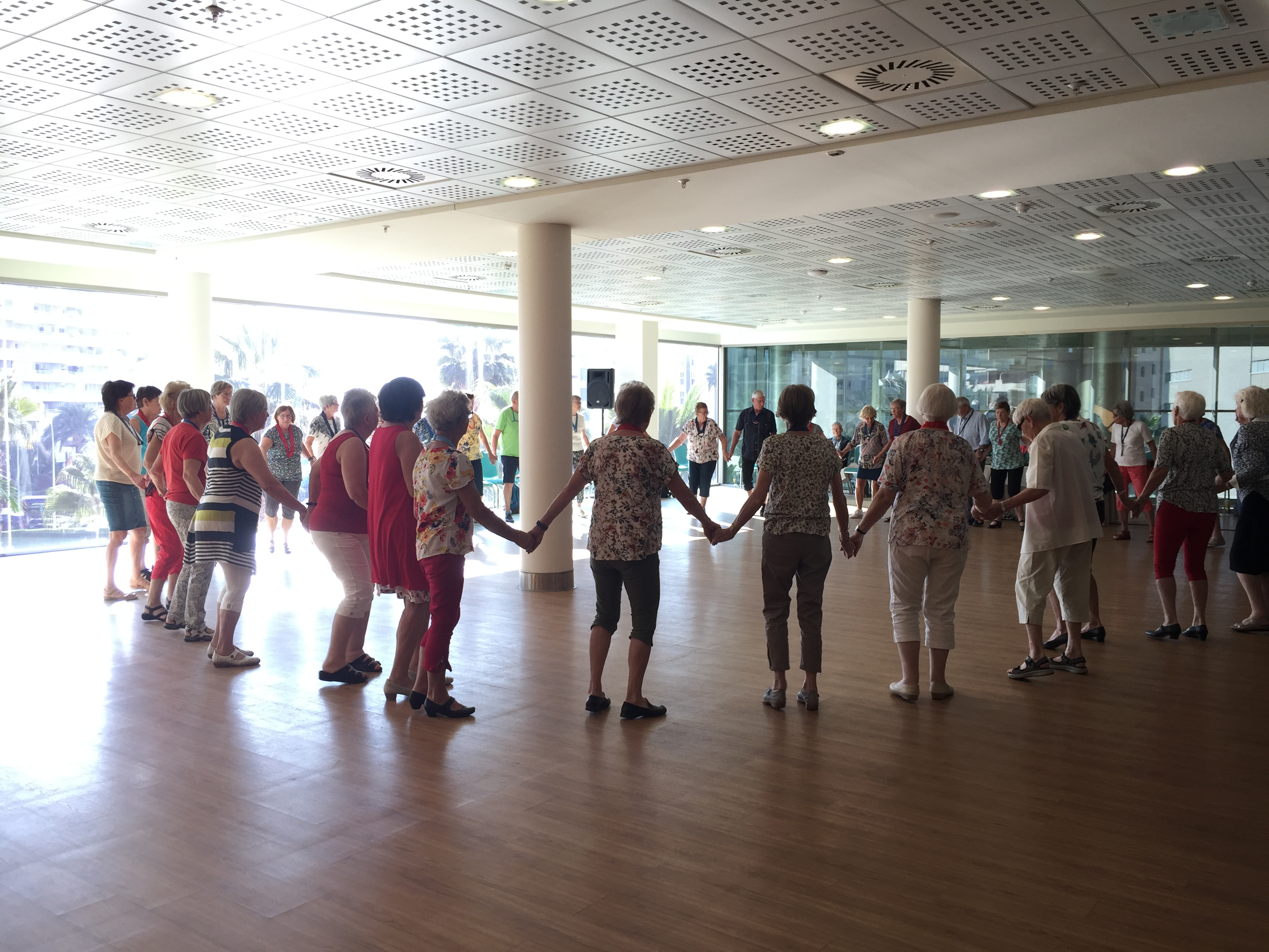 Dans på hotellet